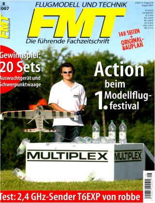 FMT - FLUGMODELL UND TECHNIK 08/2007