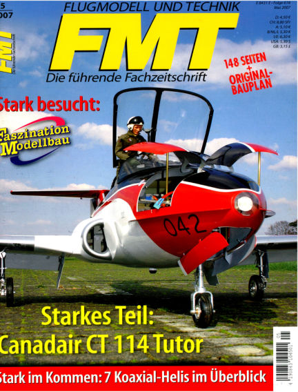 FMT - FLUGMODELL UND TECHNIK April 02, 2007 00:00