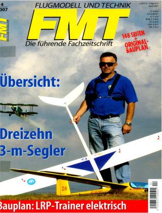 FMT - FLUGMODELL UND TECHNIK 04/2007