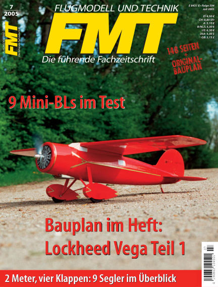 FMT - FLUGMODELL UND TECHNIK June 01, 2005 00:00