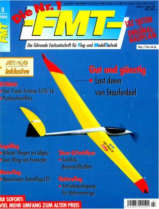 FMT - FLUGMODELL UND TECHNIK 03/2004