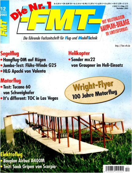 FMT - FLUGMODELL UND TECHNIK November 03, 2003 00:00