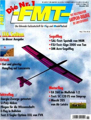 FMT - FLUGMODELL UND TECHNIK 11/2003