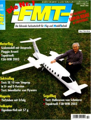 FMT - FLUGMODELL UND TECHNIK 10/2003
