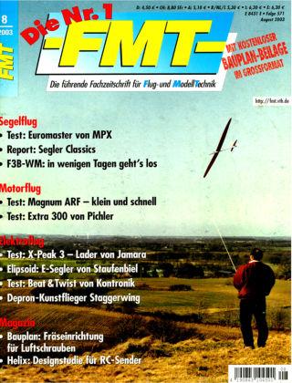FMT - FLUGMODELL UND TECHNIK 08/2003