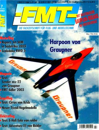 FMT - FLUGMODELL UND TECHNIK 07/2003