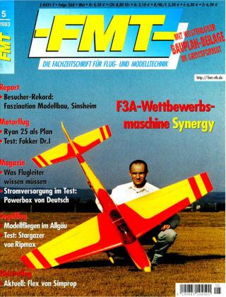 FMT - FLUGMODELL UND TECHNIK 05/2003