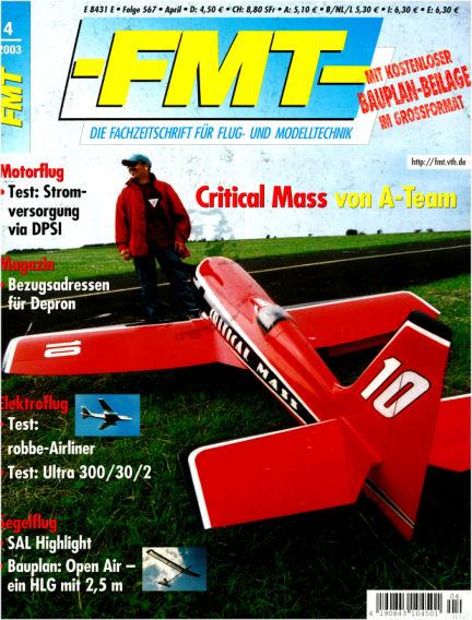 FMT - FLUGMODELL UND TECHNIK March 03, 2003 00:00