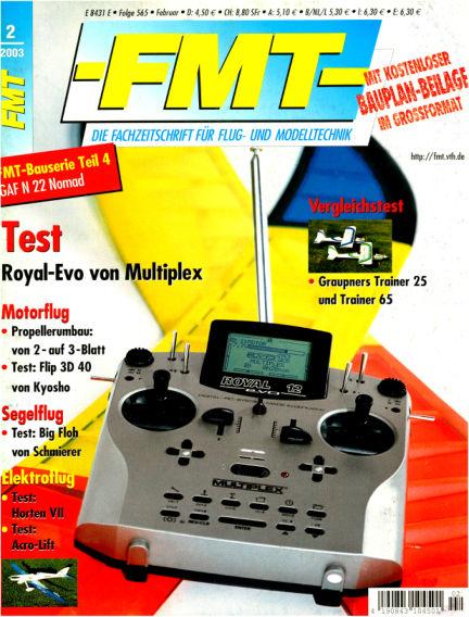 FMT - FLUGMODELL UND TECHNIK January 01, 2003 00:00