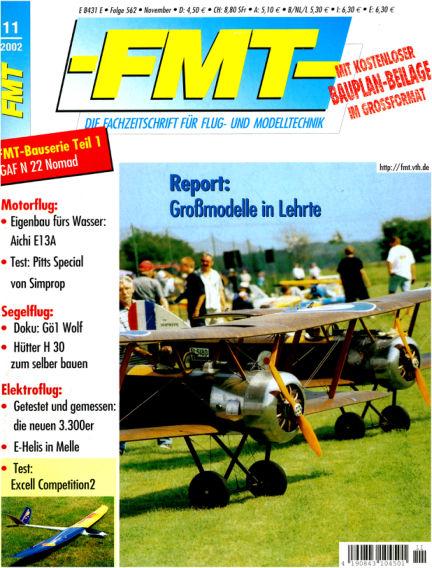 FMT - FLUGMODELL UND TECHNIK October 01, 2002 00:00