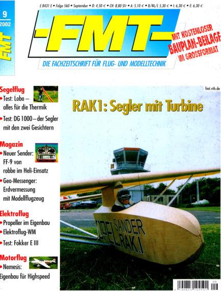FMT - FLUGMODELL UND TECHNIK August 01, 2002 00:00