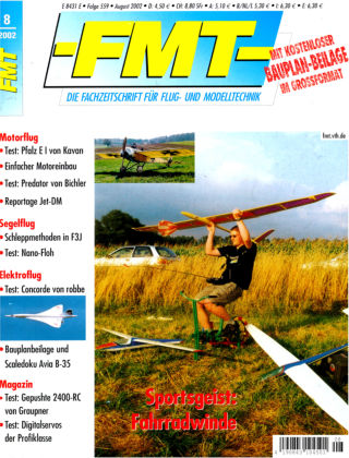 FMT - FLUGMODELL UND TECHNIK 08/2002