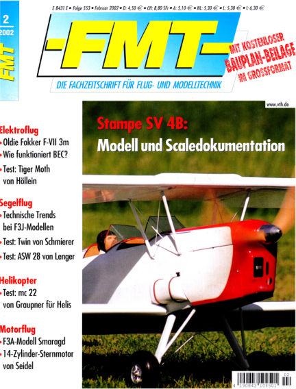 FMT - FLUGMODELL UND TECHNIK January 01, 2002 00:00