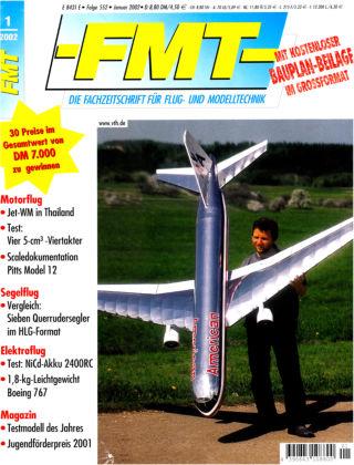 FMT - FLUGMODELL UND TECHNIK 01/2002
