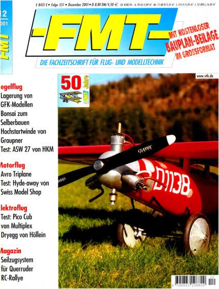 FMT - FLUGMODELL UND TECHNIK November 25, 2001 00:00