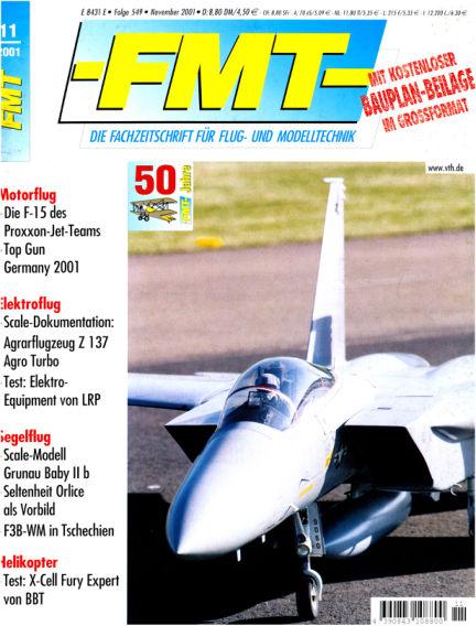 FMT - FLUGMODELL UND TECHNIK October 28, 2001 00:00