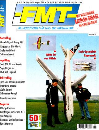 FMT - FLUGMODELL UND TECHNIK 08/2001