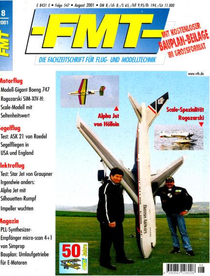 FMT - FLUGMODELL UND TECHNIK July 29, 2001 00:00
