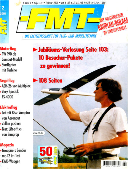 FMT - FLUGMODELL UND TECHNIK January 28, 2001 00:00