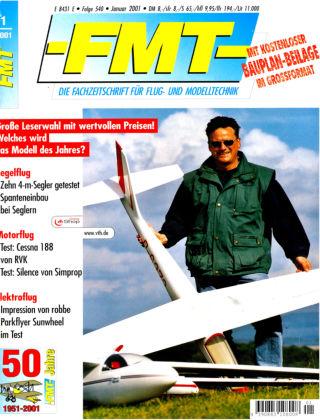 FMT - FLUGMODELL UND TECHNIK 01/2001
