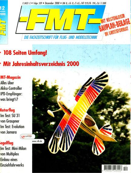 FMT - FLUGMODELL UND TECHNIK November 26, 2000 00:00