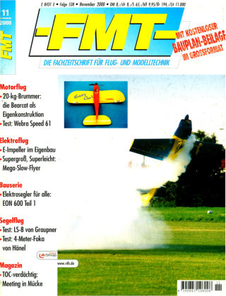 FMT - FLUGMODELL UND TECHNIK 11/2000