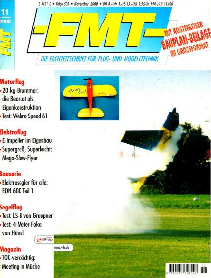 FMT - FLUGMODELL UND TECHNIK October 29, 2000 00:00