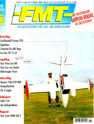 FMT - FLUGMODELL UND TECHNIK 10/2000