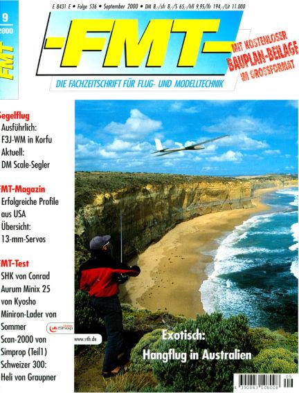 FMT - FLUGMODELL UND TECHNIK August 27, 2000 00:00