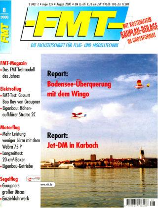FMT - FLUGMODELL UND TECHNIK 08/2000