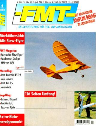 FMT - FLUGMODELL UND TECHNIK 04/2000