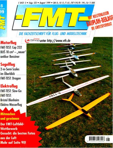 FMT - FLUGMODELL UND TECHNIK July 25, 1999 00:00