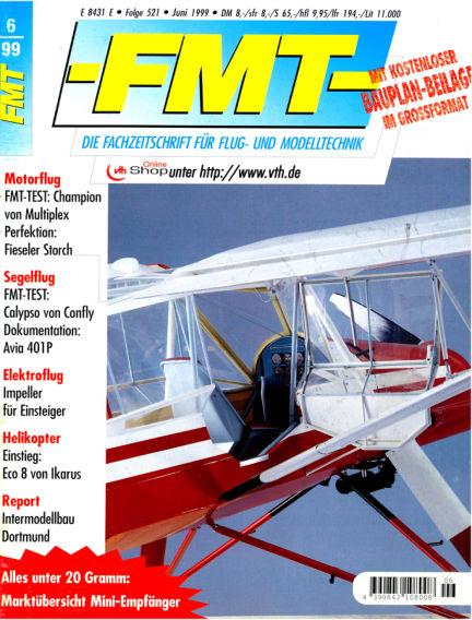 FMT - FLUGMODELL UND TECHNIK May 30, 1999 00:00