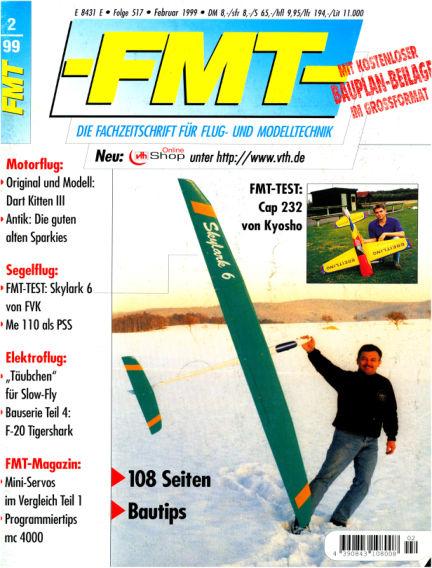 FMT - FLUGMODELL UND TECHNIK January 31, 1999 00:00