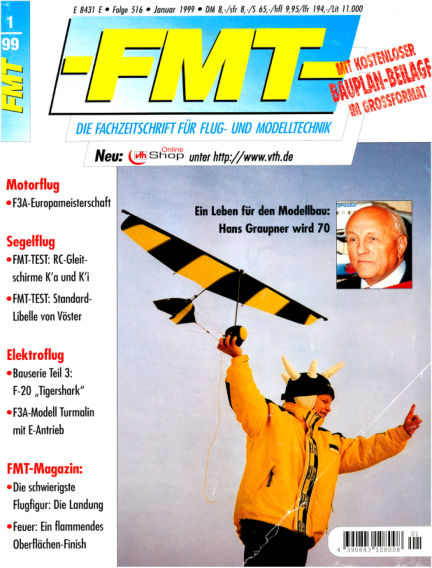 FMT - FLUGMODELL UND TECHNIK December 27, 1998 00:00
