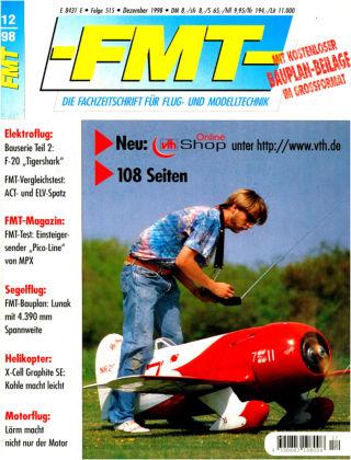 FMT - FLUGMODELL UND TECHNIK 12/1998