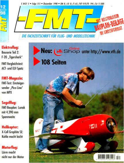 FMT - FLUGMODELL UND TECHNIK November 29, 1998 00:00