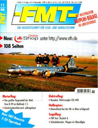FMT - FLUGMODELL UND TECHNIK 11/1998