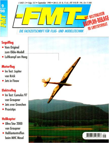 FMT - FLUGMODELL UND TECHNIK August 30, 1998 00:00
