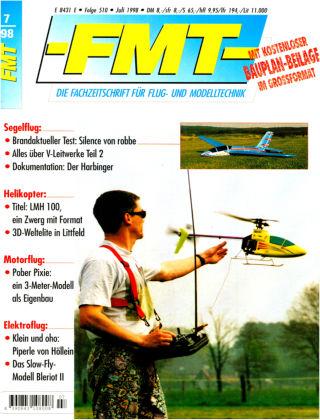 FMT - FLUGMODELL UND TECHNIK 07/1998