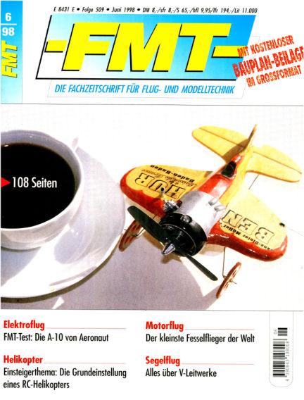 FMT - FLUGMODELL UND TECHNIK May 31, 1998 00:00