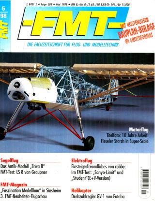 FMT - FLUGMODELL UND TECHNIK 05/1998