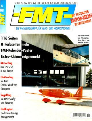 FMT - FLUGMODELL UND TECHNIK 04/1998