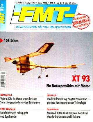 FMT - FLUGMODELL UND TECHNIK 03/1998