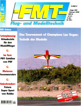FMT - FLUGMODELL UND TECHNIK 02/1998