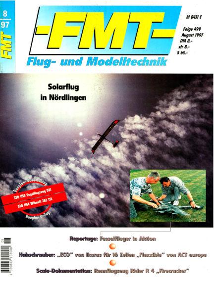 FMT - FLUGMODELL UND TECHNIK July 27, 1997 00:00