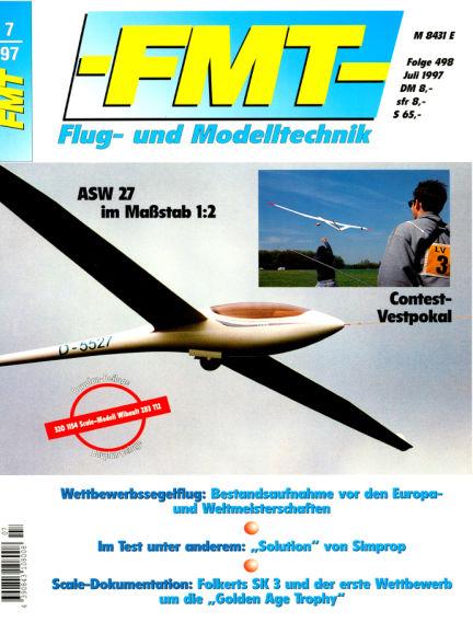 FMT - FLUGMODELL UND TECHNIK June 29, 1997 00:00