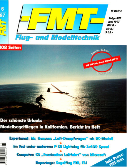 FMT - FLUGMODELL UND TECHNIK May 25, 1997 00:00