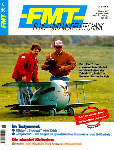 FMT - FLUGMODELL UND TECHNIK July 28, 1996 00:00