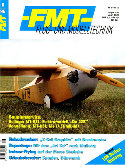 FMT - FLUGMODELL UND TECHNIK May 26, 1996 00:00
